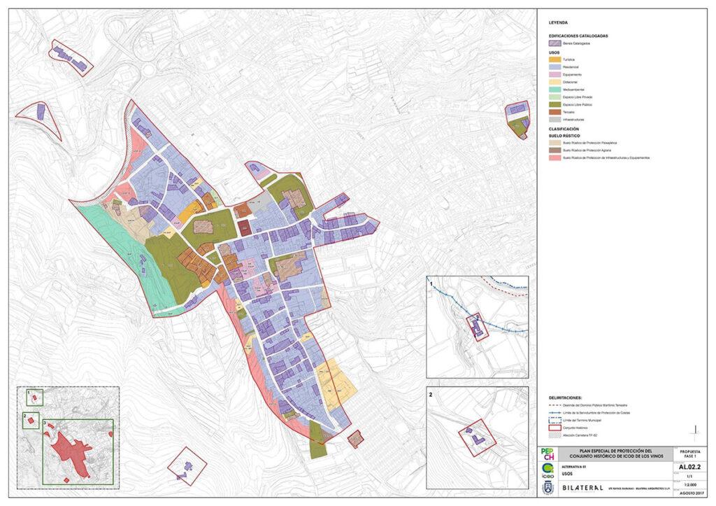 Bilateral Arquitectos - Plan Especial Icod 3